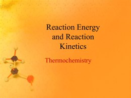 Thermochemistry - Madison Public Schools