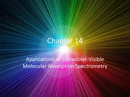 Chapter 14 Presentation (Special Project)