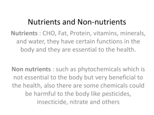 Energy-Nutrients for human-3