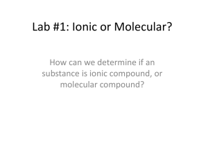 ionic/cov. lab class instructions - Thames Valley District School Board