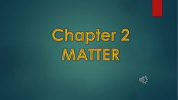 Chapter 2 Notes - Richmond Heights Schools