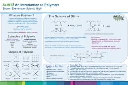 SLIME! - Sharon Science Lab