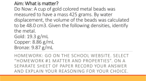 Matter_ Mixtures_ Pure Substances