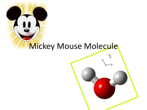 Mickey Mouse Molecule