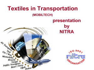 Textiles in Transportation