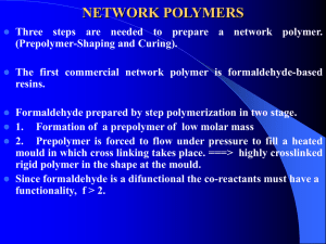 Network polymers