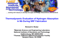 Thermodynamic Evaluation of Hydrogen Absorption