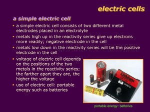 electric cells