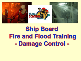 Fire and Flood Training