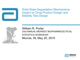 Solid State Degradation Mechanisms: Impact on