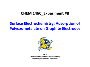 Electrochemistry - University of California, Santa Cruz