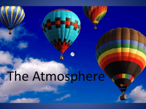 The Atmosphere - Moore Middle School