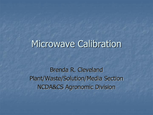 Microwave Calibration