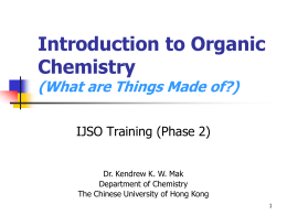 What is Organic Chemistry