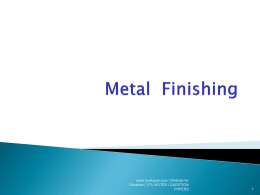 Chemistry-Unit-4-Metal-Finishing