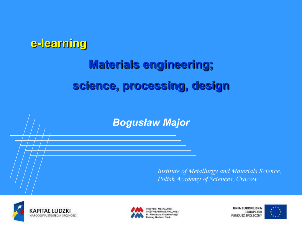 PRESENTATION - PPT File - PhD studies in materials science