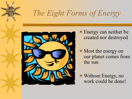The 10 Forms of Energy