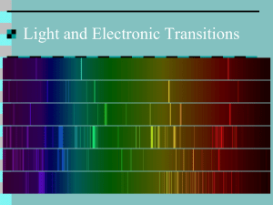 Emission Spectra and Flame Tests