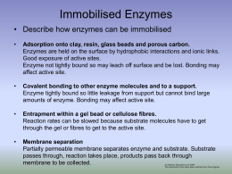 A2 immobilised enzymes comp