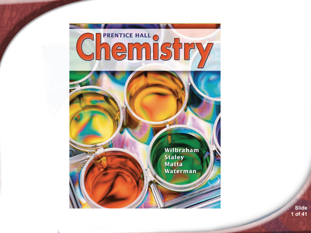 152 Chemistry – Prentice Hall Chemistry Worksheet Answers