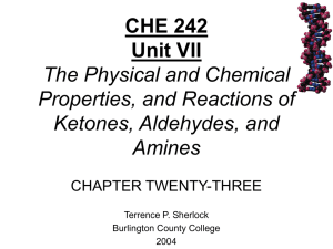 Chapter 23 Carbohydrates and Nucleic Acids - chemistry
