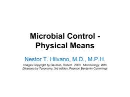 08 Microbial Control Physical Means