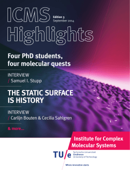 the static surface is history - Technische Universiteit Eindhoven