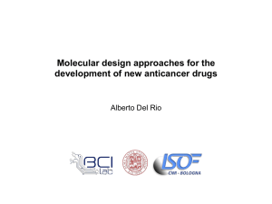 Molecular design approaches for the development of new - Isof