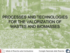 Processes and Technologies for the valorization of wastes and