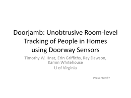 Doorjamb - Network and Systems Lab
