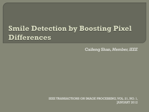 Smile Detection by Boosting Pixel Differences