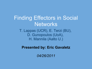 Finding Influential Mediators in Social Networks
