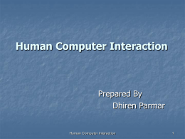 Interactive Computer Graphics, Human Computer Interaction, Virtual