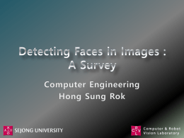 Detecting Faces in Images : A Survey