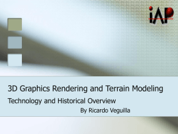 3D Graphics Rendering Introduction