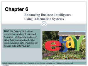 Week 06 – Enhancing Business Intelligence