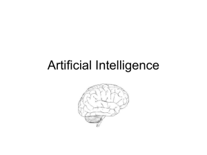 Artificial Intelligence - TAMU Computer Science Faculty Pages