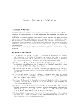 Research Activities and Publications