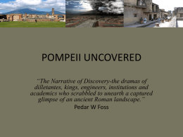 POMPEII UNCOVERED