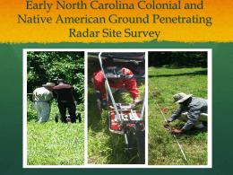 Ground Penetrating Radar (GPR) - NIA