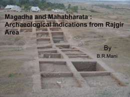 Magadha and Mahabharata : Archaeological