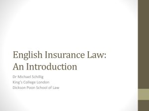 Conn v Westminster Motor Insurance Association Ltd