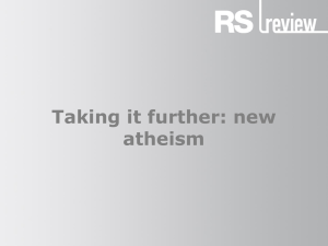 Revision: New atheism
