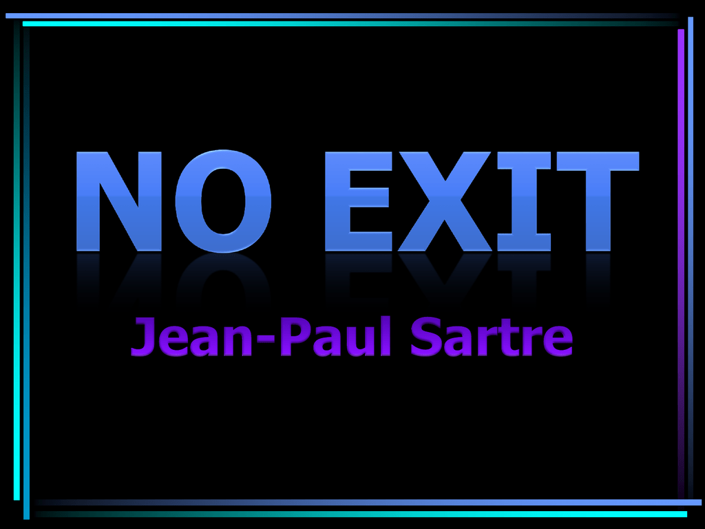 no exit powerpoint