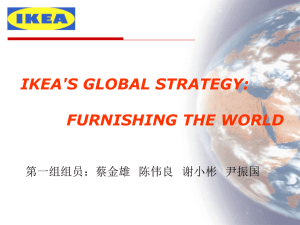 IKEA`s product strategy