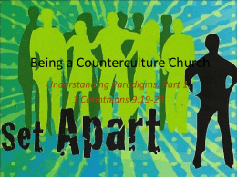 UnderstandingPart1 - Kingman Christian Church