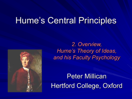 Lecture 2 - Philosophy at Hertford College