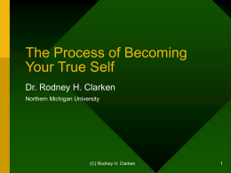 Process of Becoming Your True Self