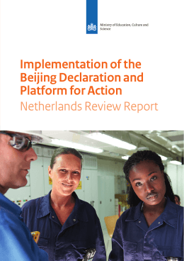Implementation of the Beijing Declaration and