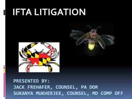 IFTA Litigation